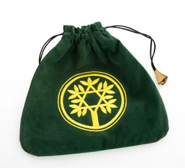 Bild på Tarotpåse: keltiskt träd (sammet)