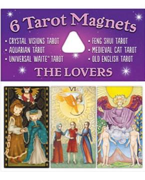 Bild på Tarotmagneter: The Lovers (de älskande)