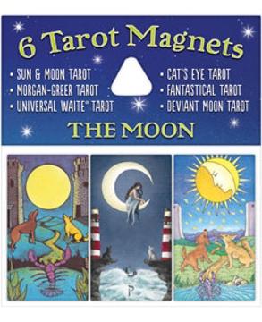 Bild på Tarotmagneter: The Moon (månen)
