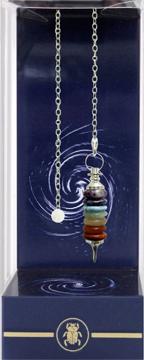 Bild på Deluxe Seven Rings of Chakras Pendulum