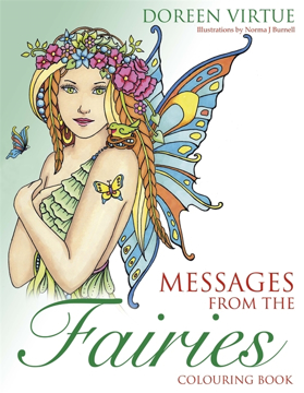 Bild på Messages from the Fairies Colouring Book