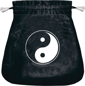 Bild på Tarotpåse: yin och yang (sammet)