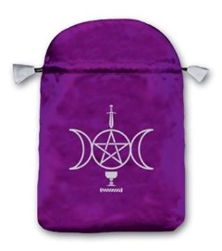 Bild på Tarotpåse: Sensual Wicca (satäng)