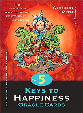 Bild på 5 keys to happiness oracle cards