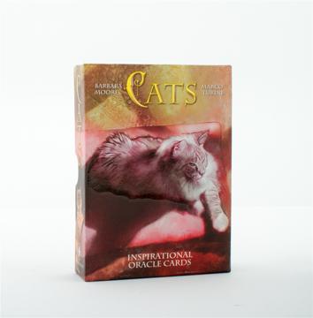 Bild på Cats Inspirational Oracle Cards