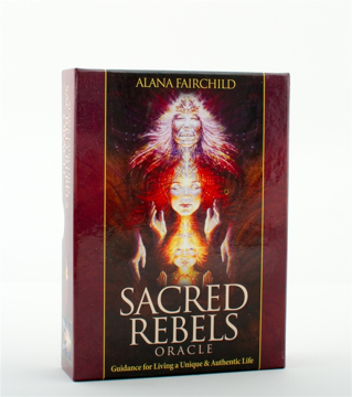 Bild på Sacred Rebels Oracle : Guidance for Living a Unique & Authentic Life