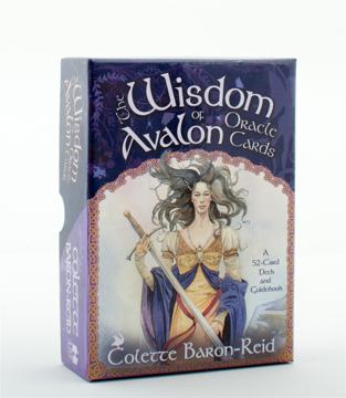 Bild på Wisdom of avalon oracle cards