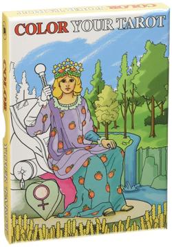 Bild på Color Your Tarot (Grand Trumps)