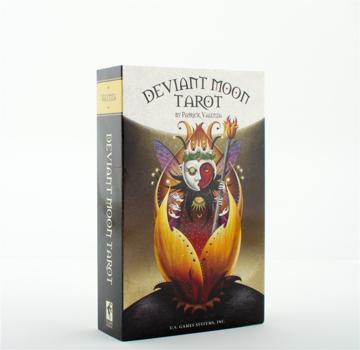 Bild på Deviant Moon Tarot: Premier Edition (78-Card Deck & Custom Spread Sheet)