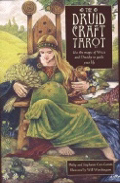Bild på Druidcraft Tarot (78 Cards & Book)