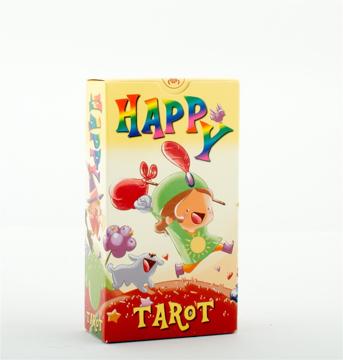 Bild på Happy Tarot: 78 full colour cards and instruction booklet