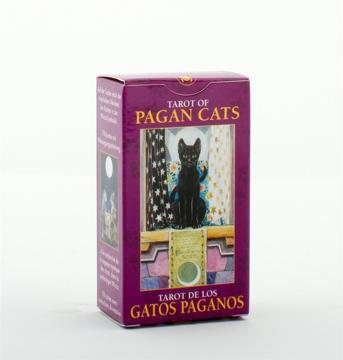 Bild på Mini Tarot - Pagan Cats