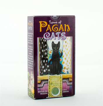 Bild på Tarot of the pagan cats