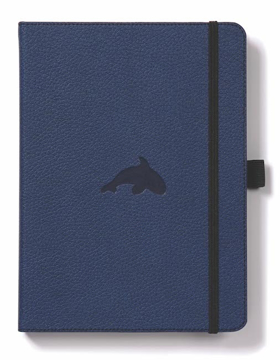 Bild på Dingbats* Wildlife A5+ Blue Whale Notebook - Plain