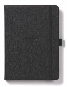 Bild på Dingbats* Wildlife A5+ Black Duck Notebook - Lined