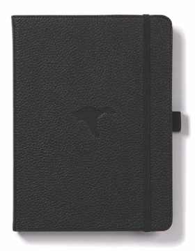 Bild på Dingbats* Wildlife A5+ Black Duck Notebook - Graph