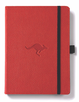 Bild på Dingbats* Wildlife A5+ Red Kangaroo Notebook - Graph