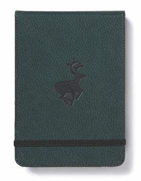 Bild på Dingbats* Wildlife A6+ Reporter Green Deer Notebook - Graph