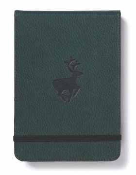 Bild på Dingbats* Wildlife A6+ Reporter Green Deer Notebook - Plain