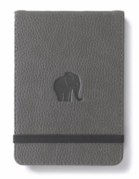 Bild på Dingbats* Wildlife A6+ Reporter Grey Elephant Notebook - Dotted