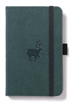 Bild på Dingbats* Wildlife A6 Pocket Green Deer Notebook - Dotted