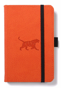Bild på Dingbats* Wildlife A6 Pocket Orange Tiger Notebook - Dotted