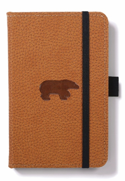 Bild på Dingbats* Wildlife A6 Pocket Brown Bear Notebook - Graph