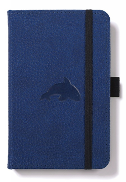Bild på Dingbats* Wildlife A6 Pocket Blue Whale Notebook - Graph