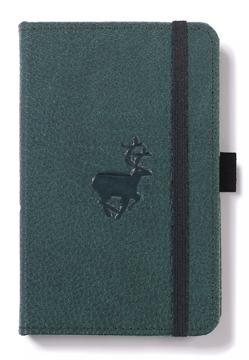 Bild på Dingbats* Wildlife A6 Pocket Green Deer Notebook - Plain