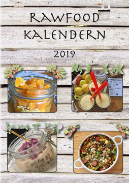 Bild på RawFood, kalendern 2019