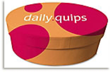 Bild på Daily Quips In A Bowl (365 Oval Cards In An Attractive Oval