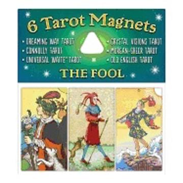 Bild på Tarotmagneter: The Fool (narren)