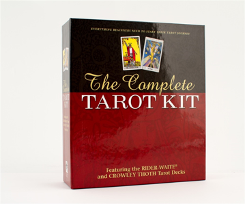 Bild på Complete Tarot Kit (Rider Deck, Thoth Deck, Book, Journal, Spread Sheet, Chart, Carrying Case)