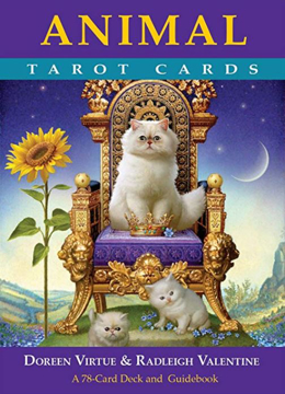 Bild på Animal Tarot Cards: A 78-Card Deck and Guidebook