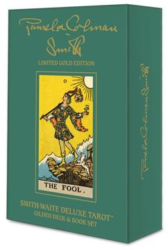 Bild på Smith-Waite Deluxe Tarot: Gilded Deck & Book Set