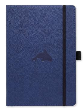 Bild på Dingbats* Wildlife A4+ Blue Whale Notebook - Dotted