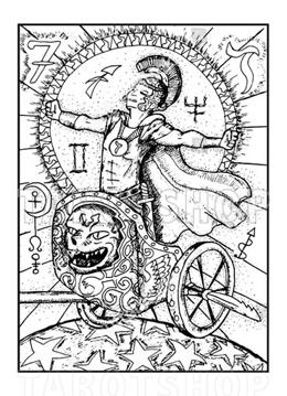 Bild på Engraved The Chariot
