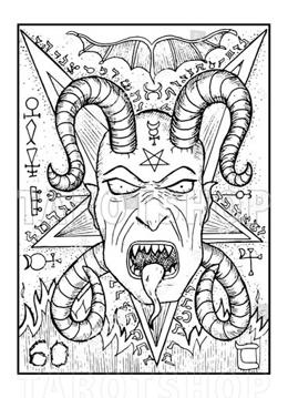 Bild på Engraved The Devil