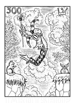 Bild på Engraved The Fool